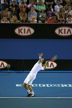 The Serve Toss