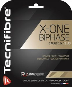 Best strings For Power-Tecnifibre X-One Biphase