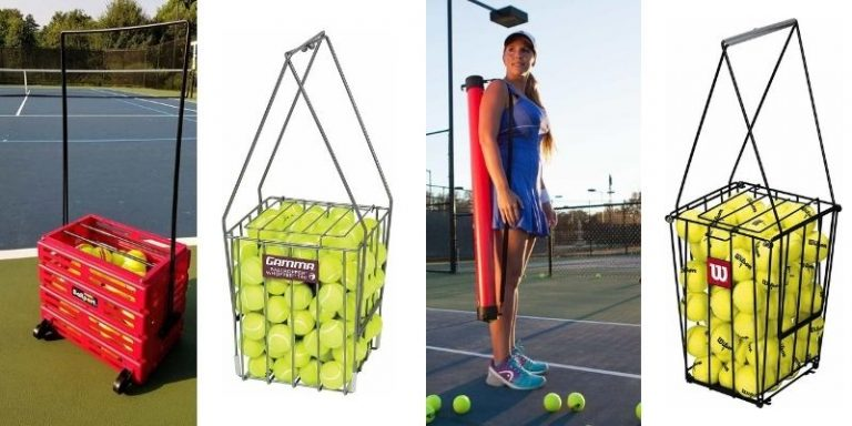 Top 5 Best Tennis Ball Hoppers Review And Complete Buying Guide